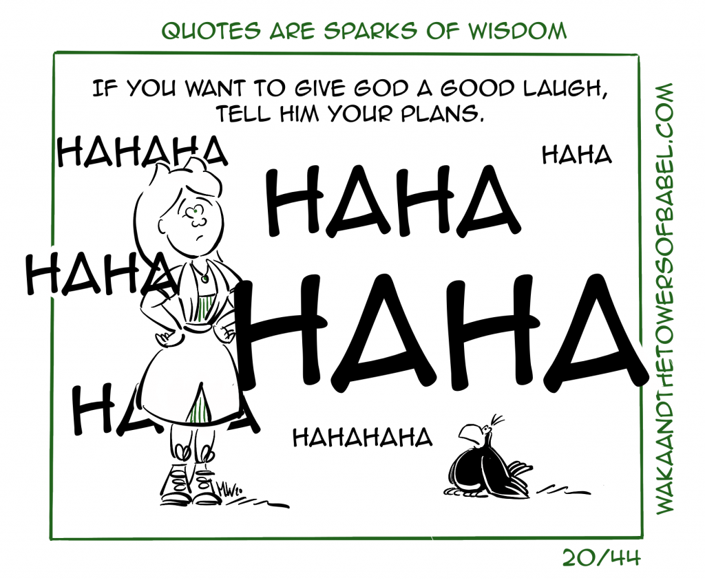 Give God a Laugh