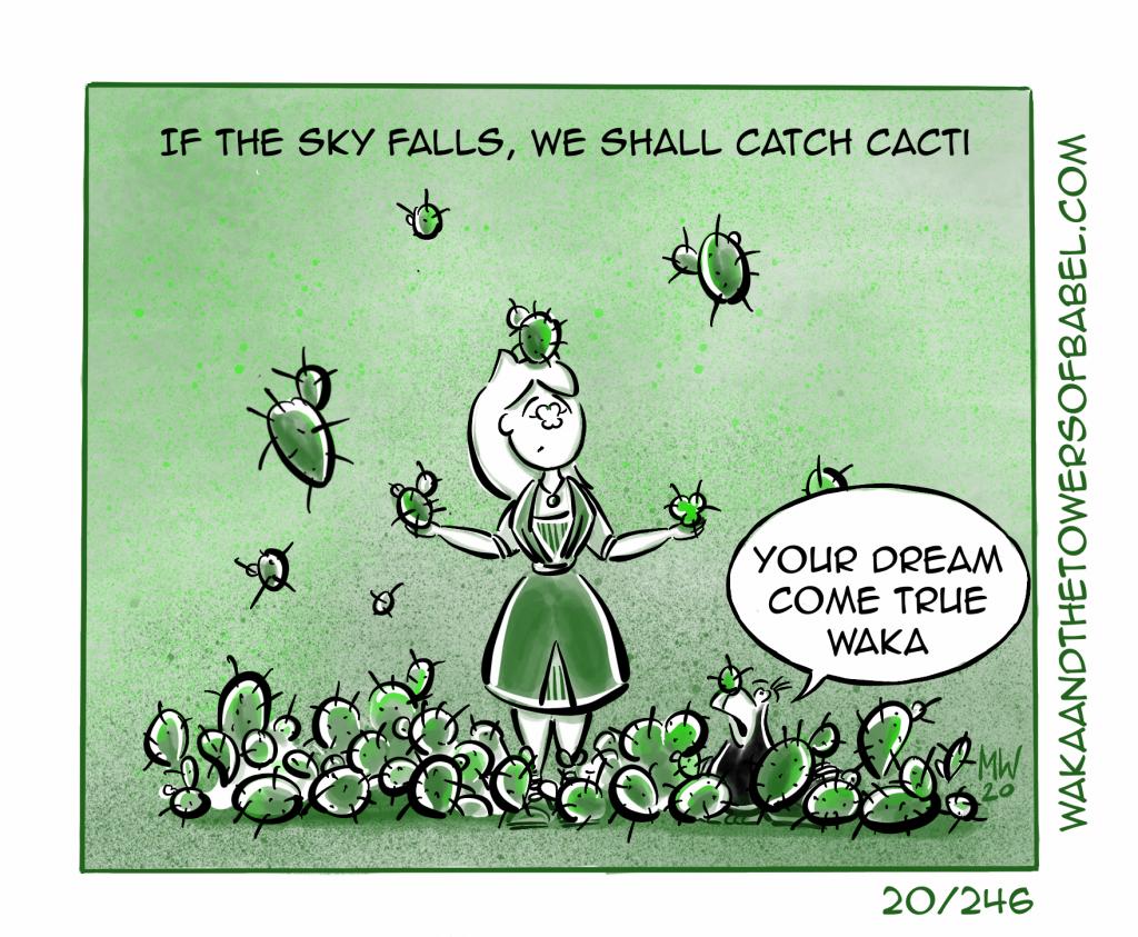 Catch Cacti
