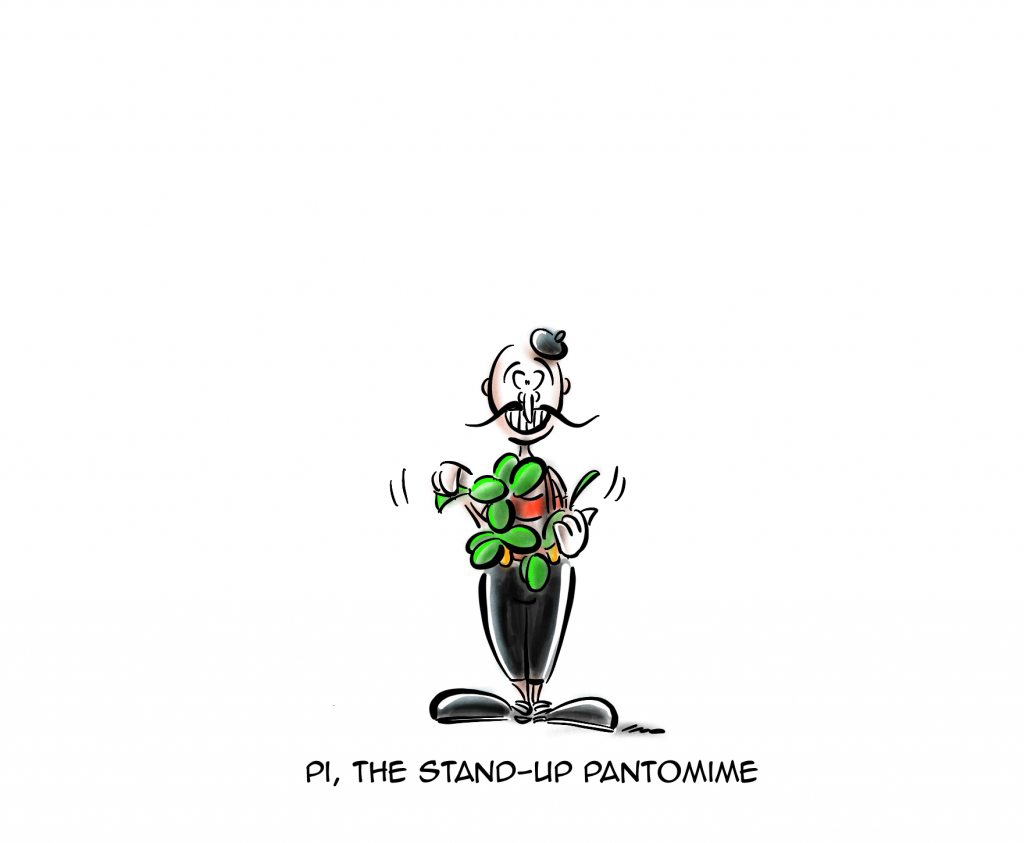 The Stand-Up Pantomine