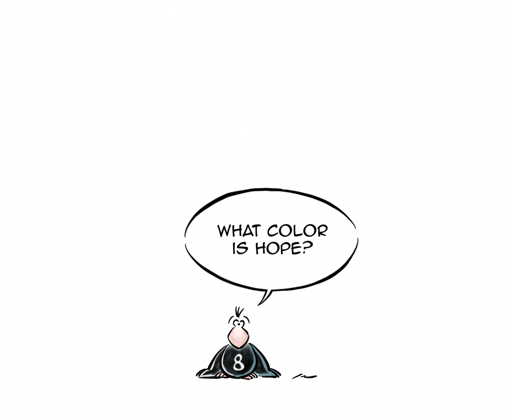 What color is hope?